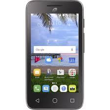 TracFone Alcatel Pixi Unite 8GB Prepaid Smartphone Black