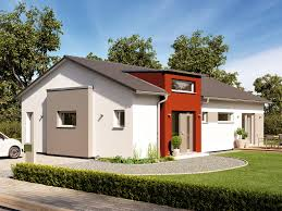 100 Architecture Gable Prefab Bungalow SOLUTION 100 V4 With Pitched Roof Living