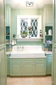 1920s Kitchen Cabinet Vintage Bathroom Sink And Cabinets Renovation Detail Windows Are Compatible With Our Historic
