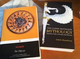 Two Fantastic Books More Famously Homer The Odyssey And Edith Hamilton Mythology Timeless Tales Of Gods Heroes