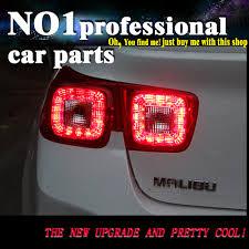 100 2011 Malibu Parts US 26402 14 OFFOUMIAO Back Lamp For Chevrolet Tail Lights LED Tail Light Malibu Rear Lamp 2014 LED DRLBrakeParkSignal Stopin Car