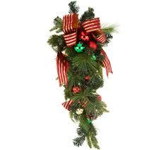 Qvc Christmas Tree Storage Bag by Swags U2014 Wreaths U0026 Garlands U2014 Christmas U2014 Holiday U2014 For The Home