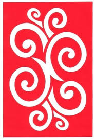 Cut Paper Design Curly Border Stencil Simple Cutting Templates Designs For Decoration Spiral