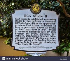 100 Studio B Home Marker Describes History Of RCA Once The Recording
