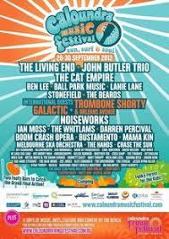 Australian Music Festival Posters