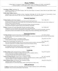 Example Of Resume For Fresh Graduate Teacher