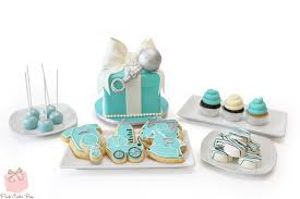 Baby Shower Cookies For Sale ba shower cakes from pink cake box in