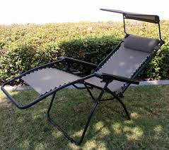 OutDoor Folding Recliner Zero Gravity Lounge Chair W/ Shade Canopy & Cup  Holder Folding Patio Lounge Chair Brickandwillowco Portable 2in1 Folding Chair Recliner Sleeping Loung Outdoor Sun Loungers Beach Lounge Chairs Adjustable Garden Deck Psychedelic Metal Plastic Cane Recling Foldable Zero Gravity With Pillow Black Sunnydaze Rocking Chaise Headrest Outdoor W Shade Canopy Cup Holder Camping Fishing Arm Rest Amazoncom Set Of 2 Patio