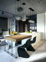 table de travail cuisine table coulissante sous plan travail table plan de travail cuisine