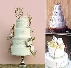 Bird And Twig Wedding Cakes