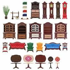 playmobil puppenhaus nostalgie villa wohnzimmer 5320 einrichtung ebay