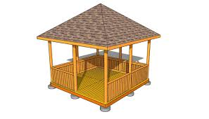 free gazebo plans myoutdoorplans free woodworking plans and