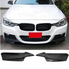 REAL Carbon Fiber Front Bumper Lip Spoiler For 20122014 BMW F30 M