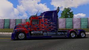 Optimus Prime Truck: Transformer 4 - ETS2 Mods