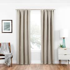 Room Darkening Curtain Liners by Solaris Blackout Blackout Liner White Polyester Rod Pocket Curtain