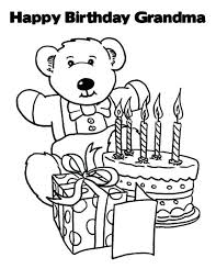 Happy Birthday Coloring Page Free Download Pages Kids Color Guard Printable For