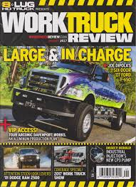 100 8 Lug Truck HD Magazine Work Review August 2017 Various