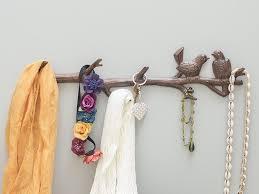 Amazon Cast Iron Birds On Branch Hanger With 6 Hooks