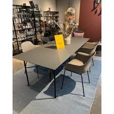 ferm living temp mingle dining table showroom model