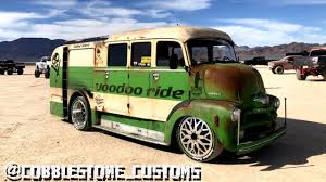 100 Tits And Trucks 1955 Chevrolet 5400 COE ExFire Truck Complete Customized Build