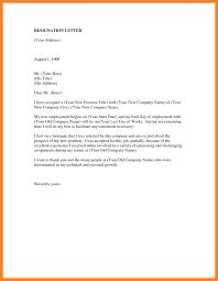 6 Job Resignation Letter Resign Picture Cover