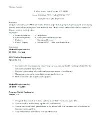 Resume Summary Examples For College Students Medical Device Sales Format Experienced Manager Best Of Ex
