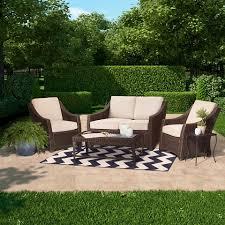 Affordable Outdoor Conversation Sets by Patio Conversation Sets Target Minimalist Pixelmari Com