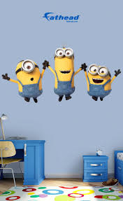 Fathead Princess Wall Decor by 9 Best Minion Bedroom Ideas Images On Pinterest Minion Bedroom