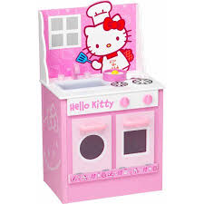 Hello Kitty Classic Kitchen Play Set Walmart