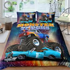 Buy Monster Truck 3d And Get Free Shipping On AliExpress.com Monster Truck Bedding Set Unilovers Buy Jam Pillowcase Destruction Pillow Cover Hot Wheels Giant Grave Digger Diecast Vehicles Amazoncom Wazzit 4 Piece Duvet Extreme Off Road Disney Pixar Monsters Scarer In Traing 4pc Toddler Bed High Stair Ernesto Palacio Design 5pc Full Maximum Rescue Heroes Fire Police Car Cotton Toddlercrib Mainstays Kids Stripe A Bag Walmartcom Size Best Resource Cars Queen By Ambesonne Cartoon