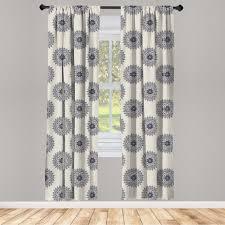 gardine fensterbehandlungen 2 panel set für wohnzimmer schlafzimmer dekor abakuhaus orientalisch belaubt medaillon kaufen otto