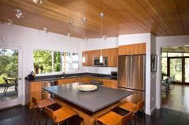 Midcentury Modern Kitchens Grey Mid Century Kitchen Counters