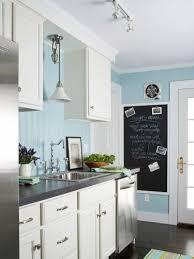 blue kitchen paint