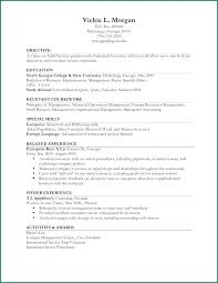 Resume Template Limited Work Experience Plus