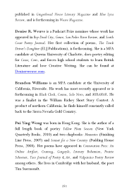 Mojave River Review - Summer 2014 By Mojave River Media - Issuu Be Positive Bob Love 97480901810 Amazoncom Books Mojave River Review Summer 2014 By Media Issuu A Birthday Poem Violet Nesdoly Poems Two Scavengers 20 Truck Search Results Teachit English 1 1953 B Born In Santiago De Chile The Son Driver Who Was Somebody Stole My Rig Poem Shel Silverstein Hunter The Scum Gentry Poetry Magazine Funeral Service For Truck Driver Floral Pinterest Minor Miracle Marilyn Nelson Comments Reviews Major Verbs Pierre Nepveu And Soul Mouth Sterling Brown Living Legend