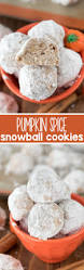 Pumpkin Spice Hershey Kisses Cookies by Check Out Pumpkin Spice Snowballs It U0027s So Easy To Make Teacake