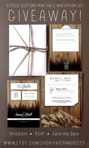 Wedding Invitation Suite Giveaway