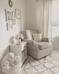 Neutral White, Gold, And Blush Pink Nursery. Beige Rocker ... Attractive Inexpensive Rocking Chair Nursery I K E A Hack 54 Stylish Kids Bedroom Ideas Architectural Digest Westwood Design Aspen Manual Recline Glider Rocker Sand Baby Ottoman Fniture Ikea Poang For Gray And White Nursery Rocking Chair Australia Shermag Aiden And Set With Grey Fabric Unique Elegant With Say Hello To The New Rocker House To Home Blog Us 258 43 Off2018 Toy Children Dollhouse Miniature Wooden Horse Doll Well Designed Crafted Roomin Gags