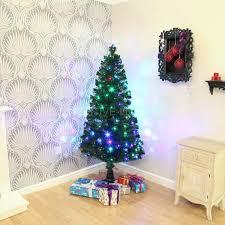Fiber Optic Rotating Tabletop Christmas Tree by Cheap Fibre Optic Christmas Tree Prices Online Pi Uk