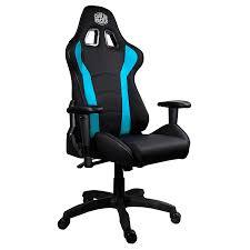 Cooler Master Caliber R1 Ergonomic Black & Blue Gaming Chair | FoxyTech