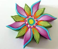 plus de 25 idées uniques dans la catégorie fleurs en argile