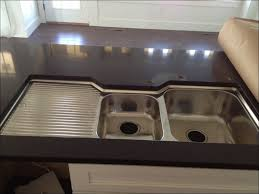Farmhouse Sink With Drainboard And Backsplash by Cast Iron Kitchen Sinks With Drainboard Farm House Sinks Kitchen