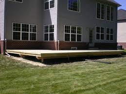 12x12 Floating Deck Plans by Home Design Backyard Composite Deck Designs Rustic Expansive