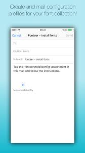 Fonteer Install fonts on your iPad and iPhone