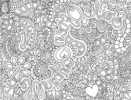 Difficult Abstract Coloring Pages Another Cute Zendoodle That You 474767 For Free 2015