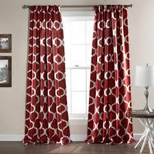 Geometric Pattern Window Curtains by Geo Room Darkening Window Curtain Set Lush Decor Www Lushdecor Com