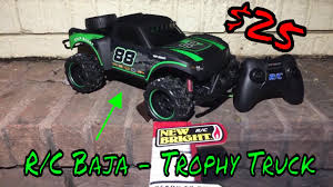 100 New Bright Rc Truck RC Baja Trophy Review YouTube