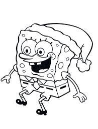 Spongebob Christmas Drawings