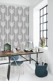 tapisserie pour bureau le papier peint géométrique en 50 photos avec idéеs