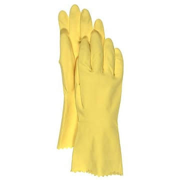 Boss Gloves Flock Lined Latex Gloves - X-Large